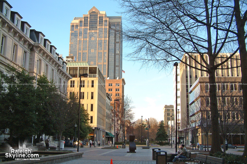 First Union Capitol Center and Fayetteville Street Mall