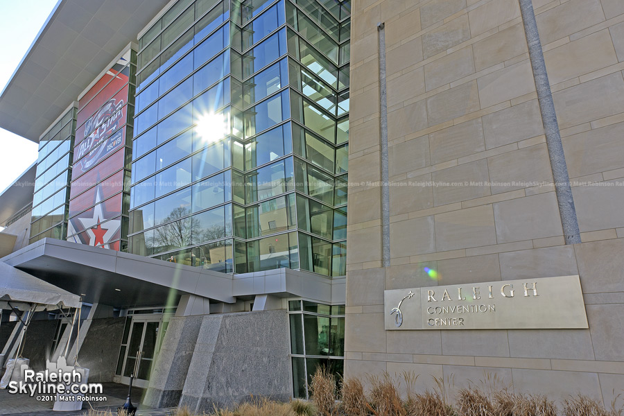 Raleigh Convention Center during the 2011 NHL All Start Game Weekend