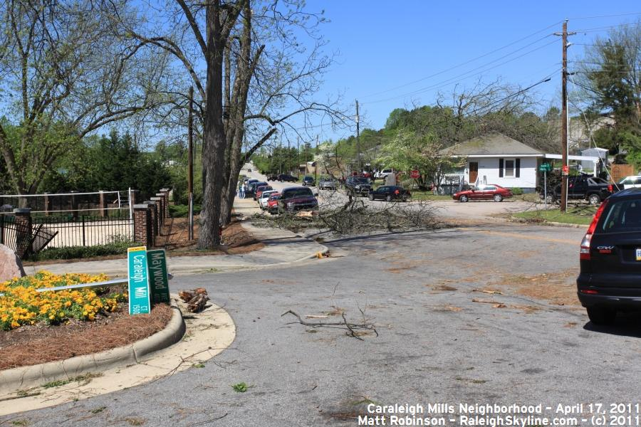 Caraleigh Mills tornado Damage