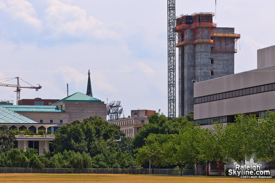 State Employees' Credit Union of North Carolina headquarters construction