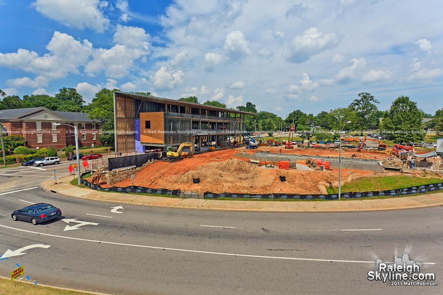 American Institute of Architects North Carolina Headquarters under construction