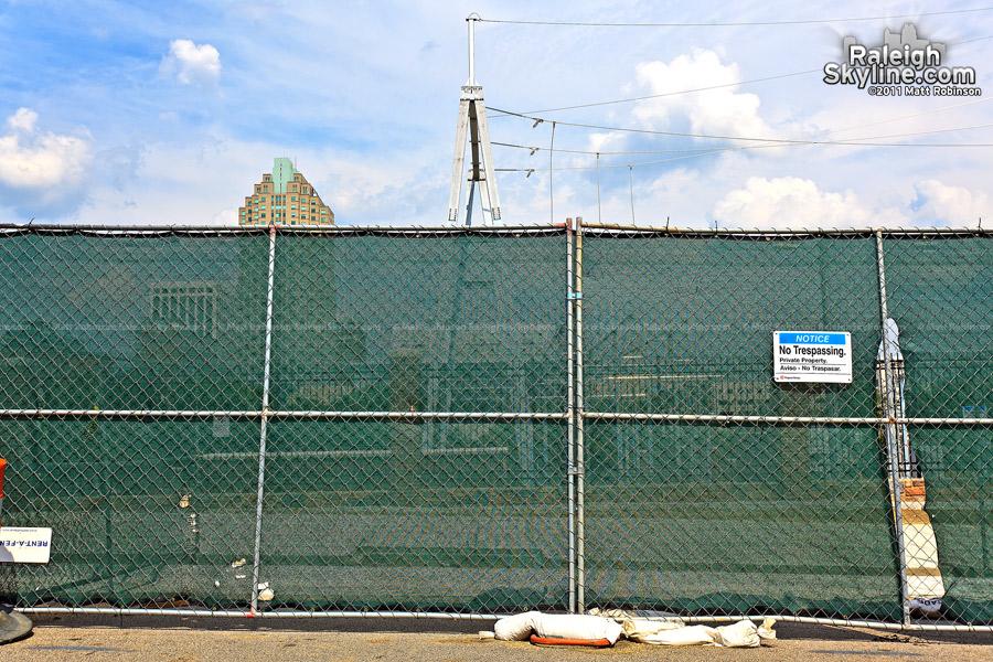 New Progress/Duke Energy substation in downtown Raleigh