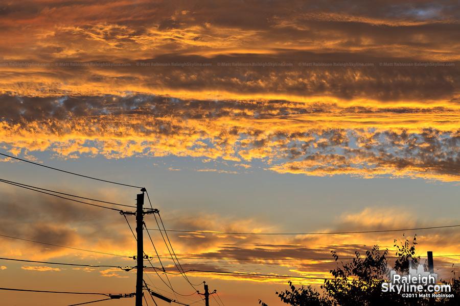 September 7, 2011 Raleigh Sunset