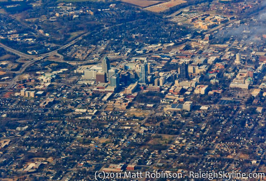 Raleigh Aerial - December 2011