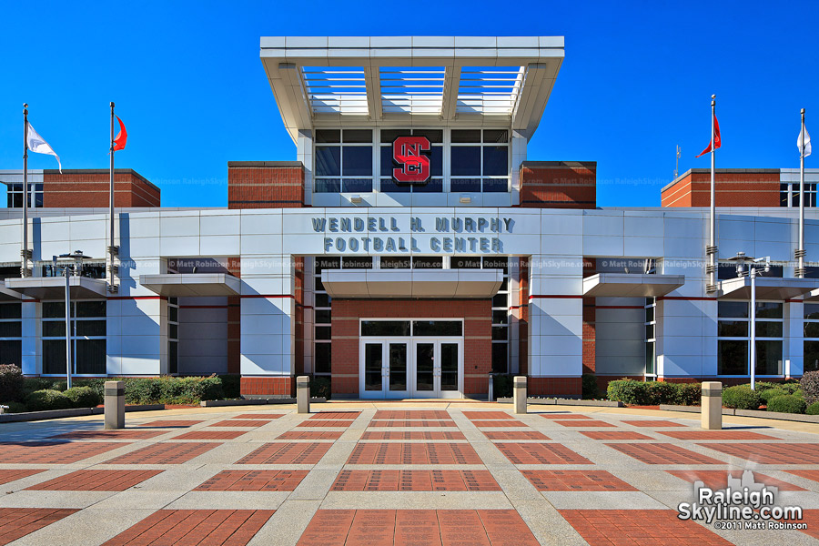 Wendell Murphy Football Center at Carter Finley Stadium