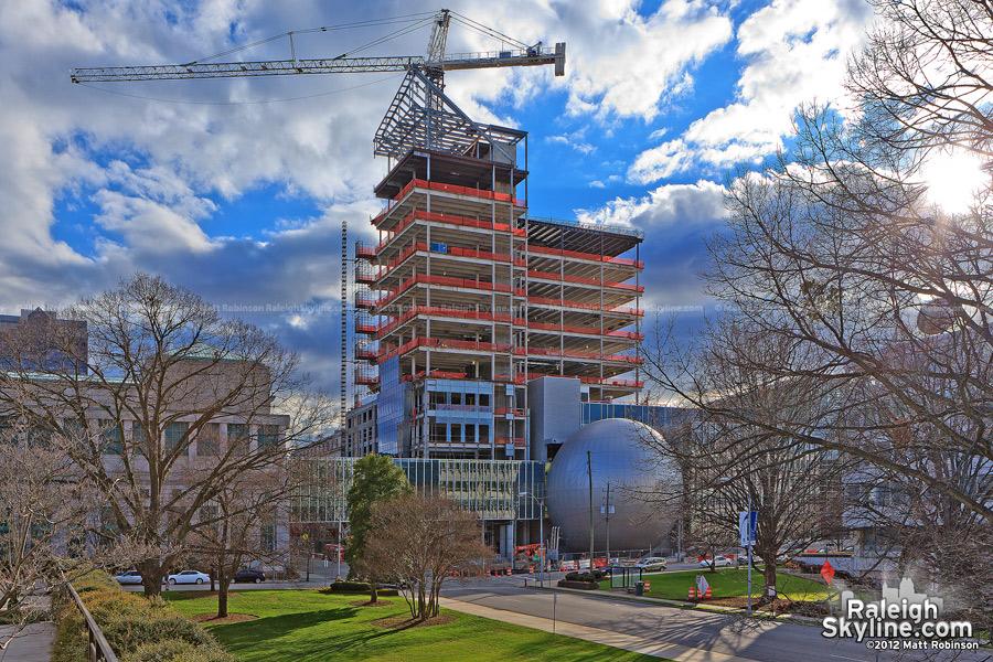 Progress on the New NC SECU Headquarters
