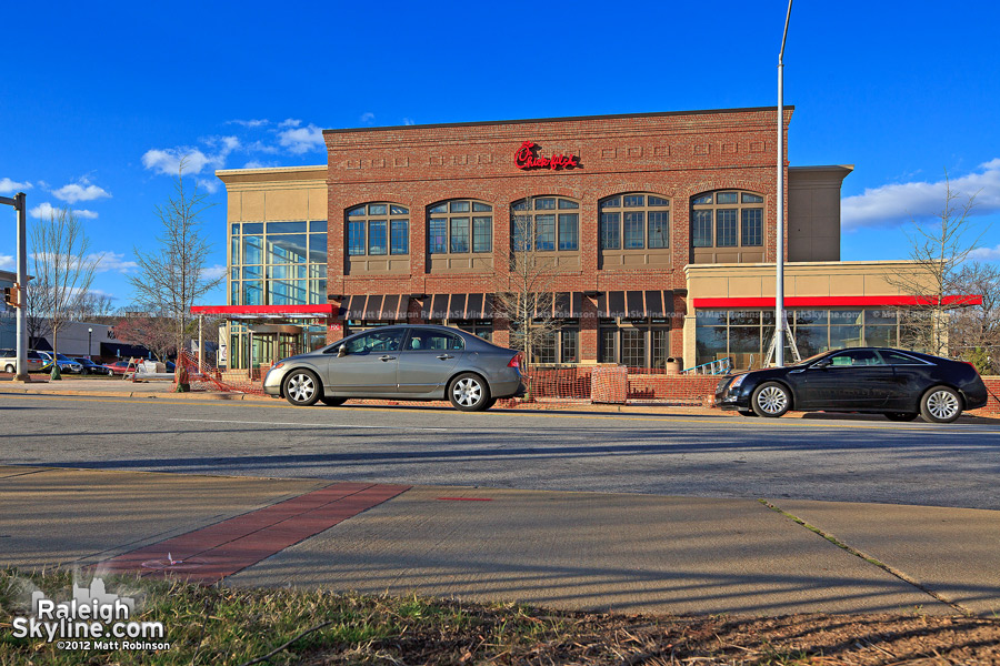 World's first two story Chick-Fil-A in Raleigh! (Cameron Village)