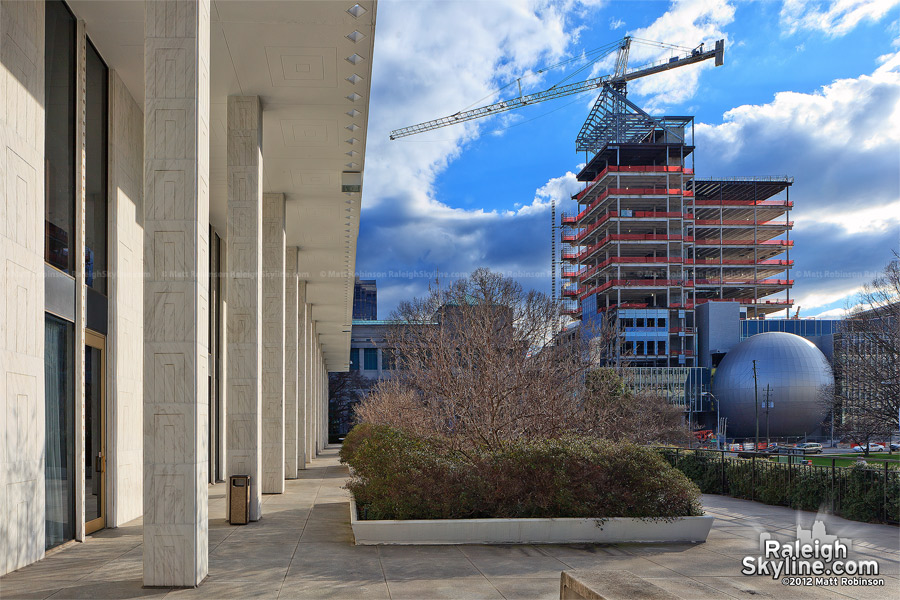 North Carolina State Employees' Credit Union under construction