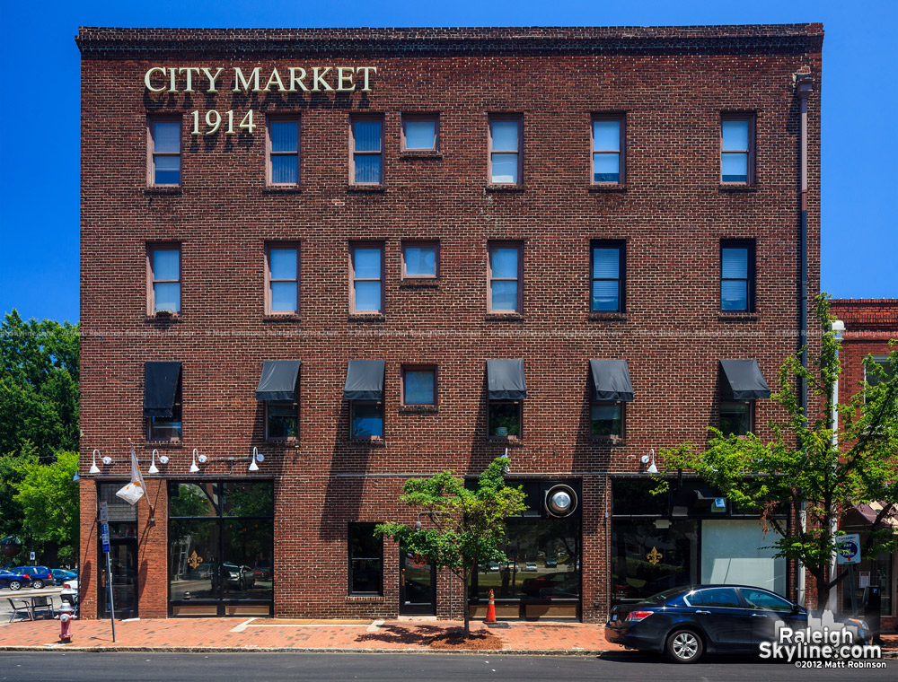 City Market Building in Raleigh