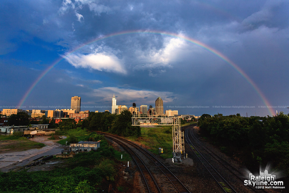 Raleigh Rainbow on August 1, 2012