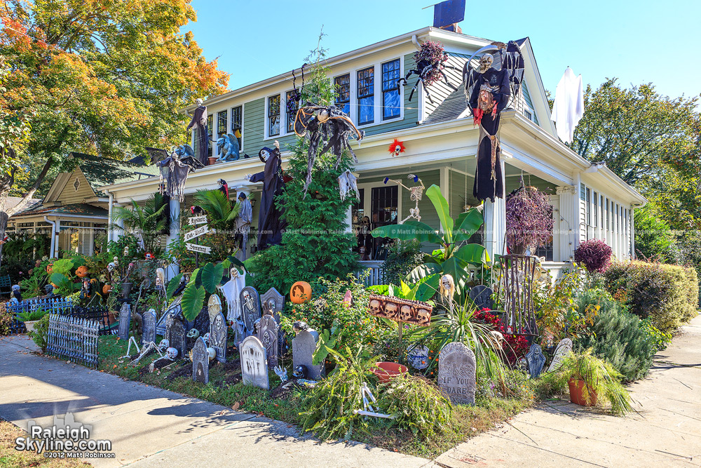 an always festive oakwood home decorated for halloween