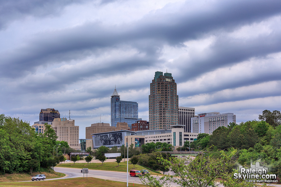 Pressure Wave Clouds over the Raleigh Skyline