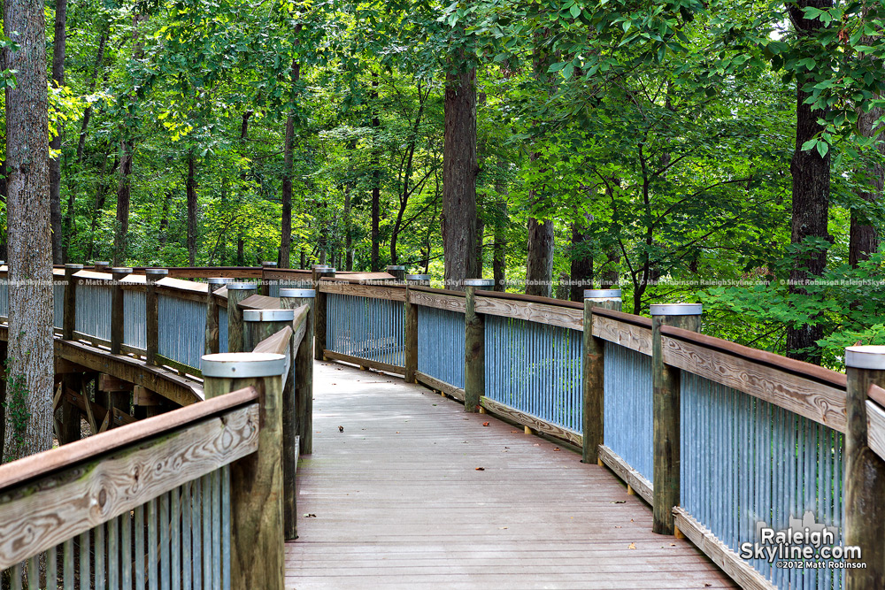 Walkway at Falls Lake, North Raleigh