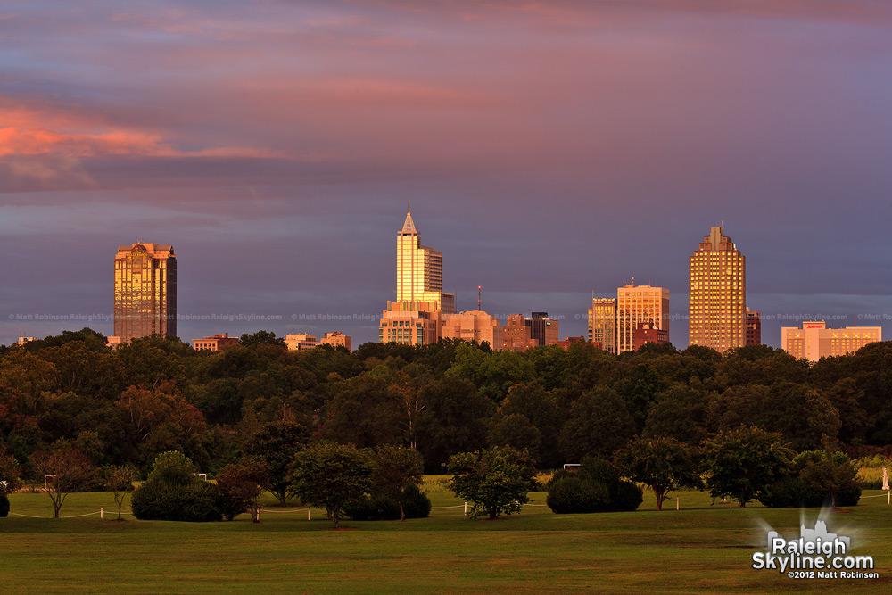 Raleigh Sunset September 18, 2012