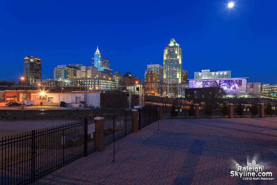 Raleigh Skyline from Progress Energy substation