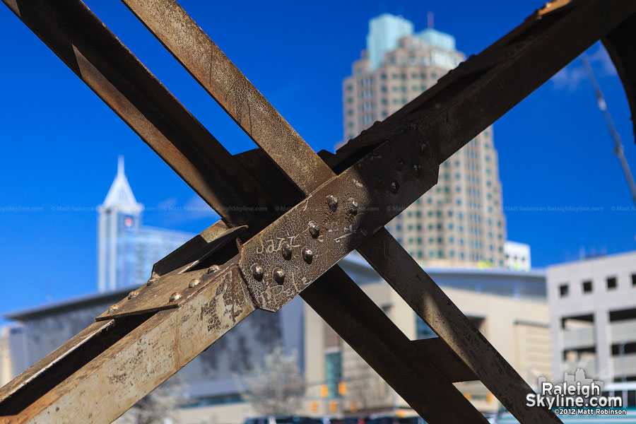 Structural X bracing