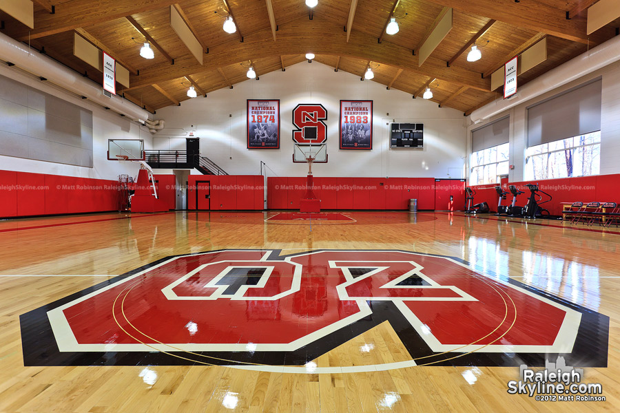 NC State Basketball practice facility