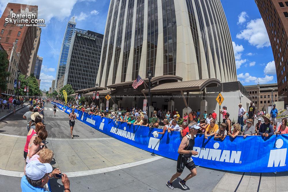 Fayetteville Street 2013 Raleigh Ironman 70.3