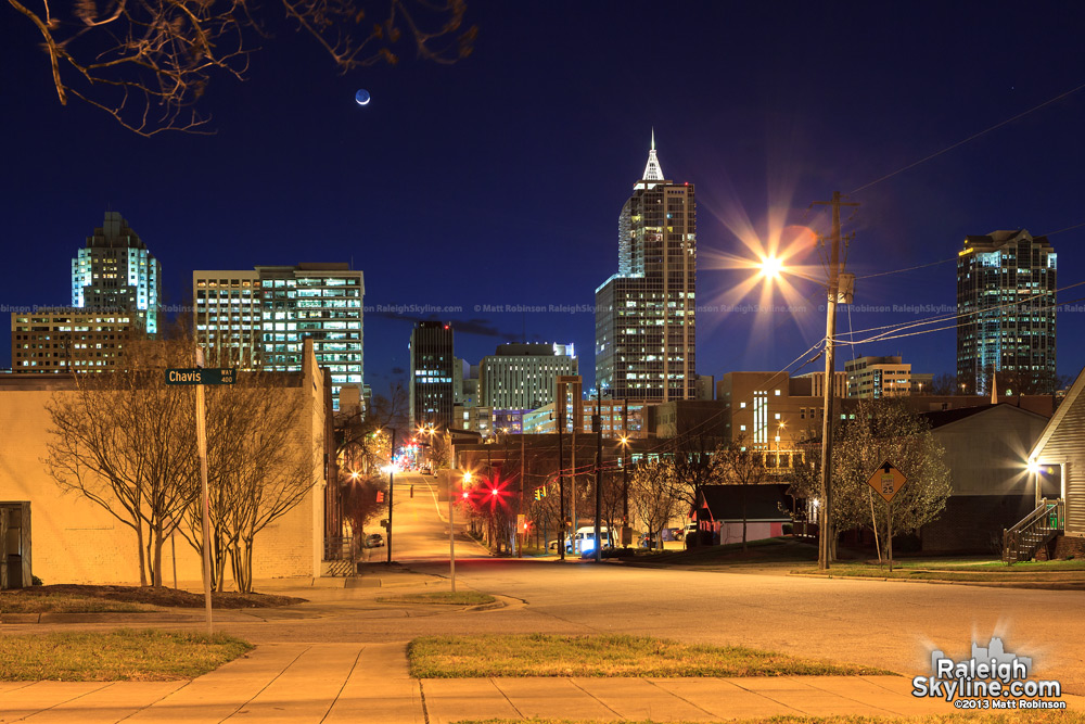 Raleigh from East Davie Street