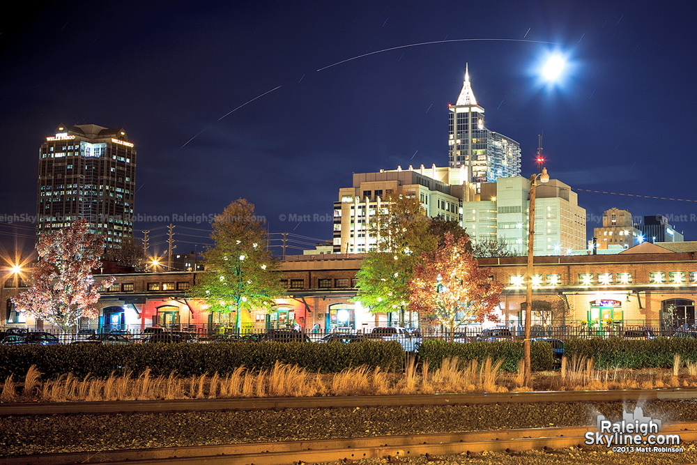 A closer look at the Minotaur 1 Rocket Launch from downtown Raleigh, NC