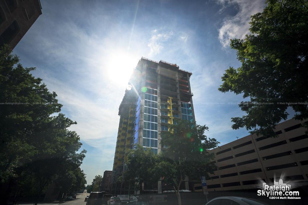 Skyhouse condominiums under construction