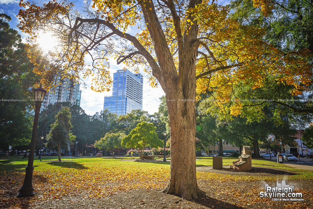 Autumn Moore Square with PNC Plaza