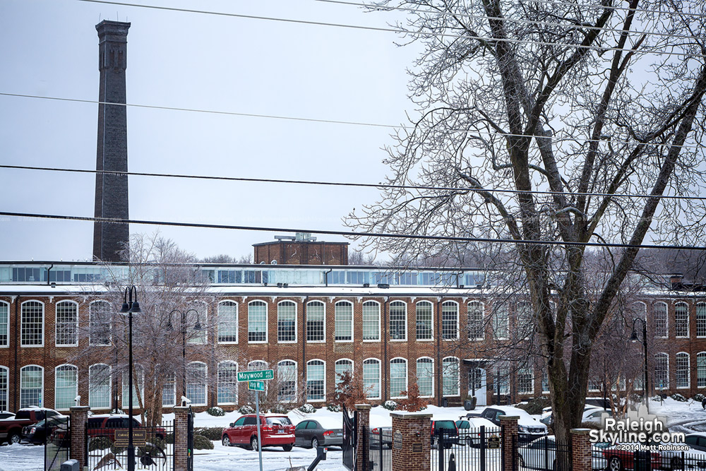 Caraleigh Mills in the Snow and Ice