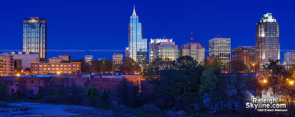 2015 Raleigh Skyline Panorama