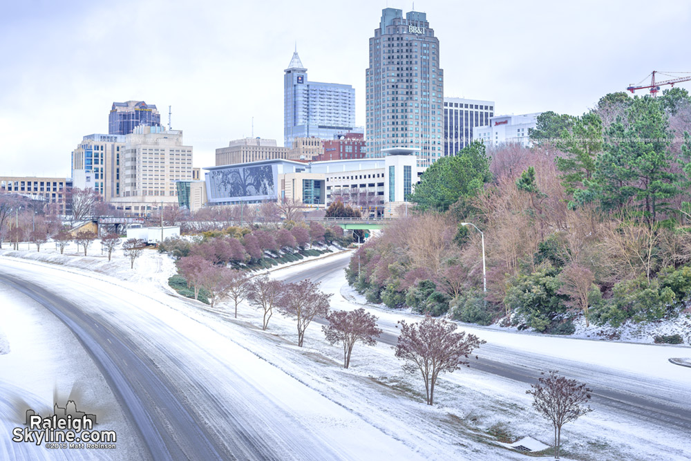 February 2015 Snowstorm Raleigh