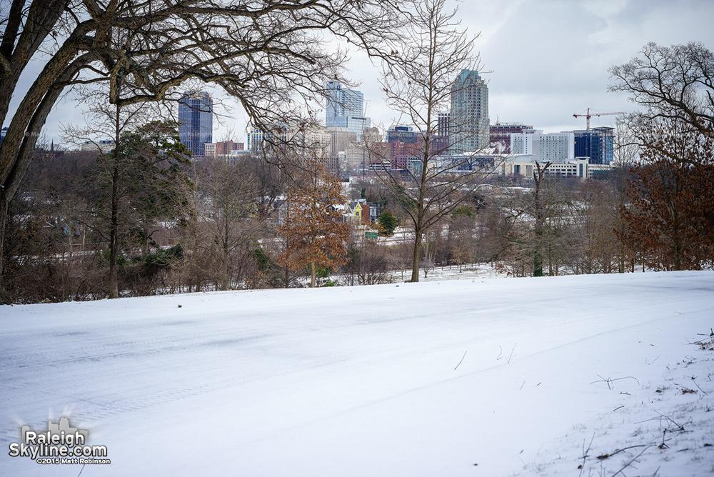 Dorothea Dix snow 2015