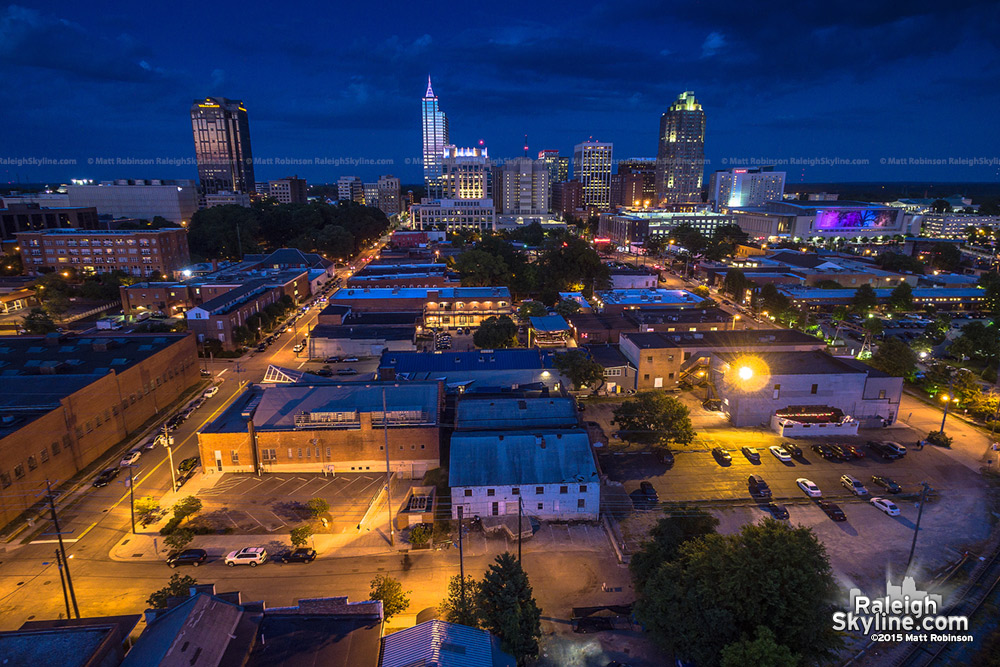 Raleigh from the Warehouse District