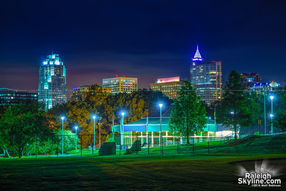 Raleigh from Chavis Park 2016