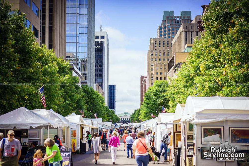 Festival on Fayetteville Street