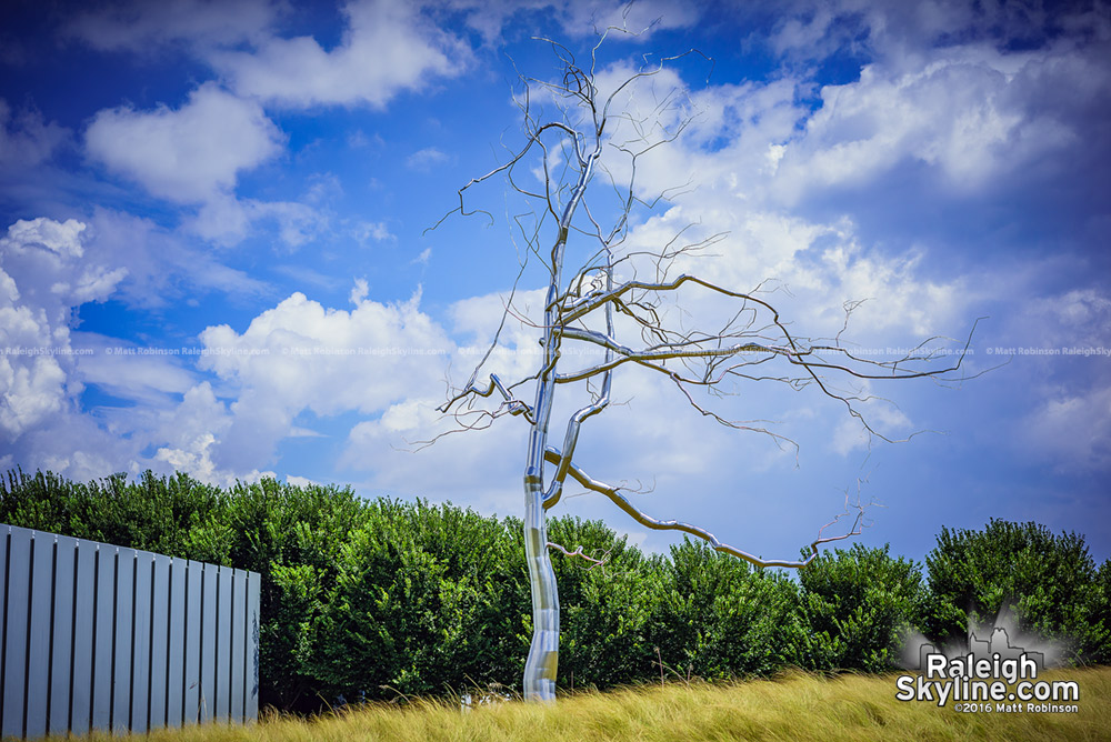 The Silver Tree at the North Carolina Museum of Art
