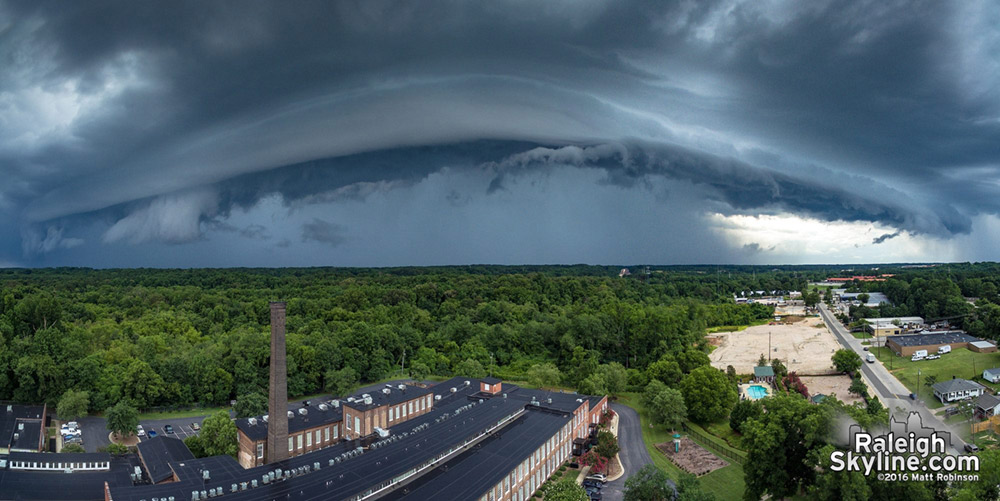 Gust over Caraleigh Mills