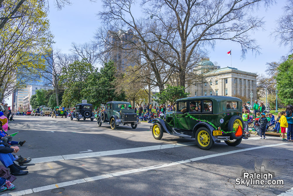 2017 St. Patrick's Day parade in Raleigh