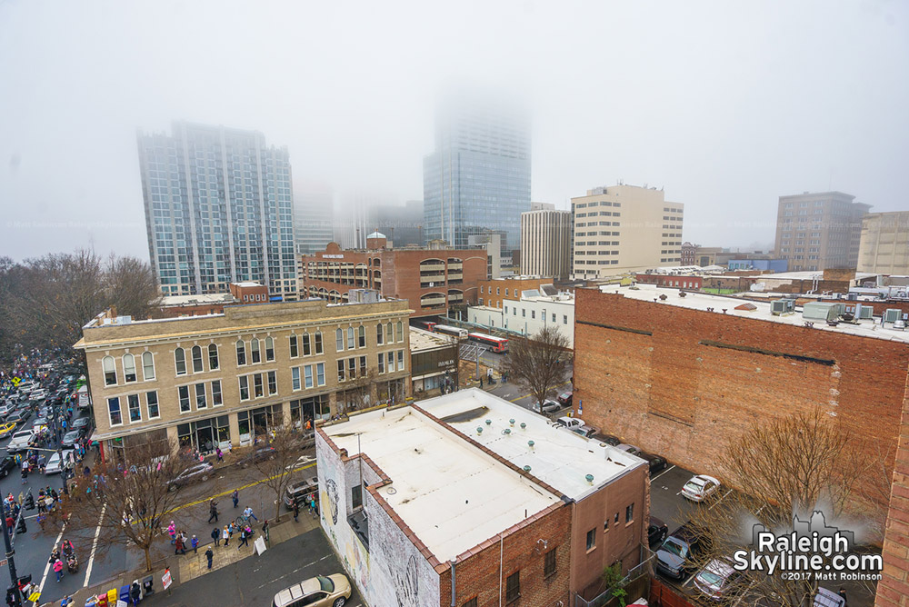 Raleigh into the Fog