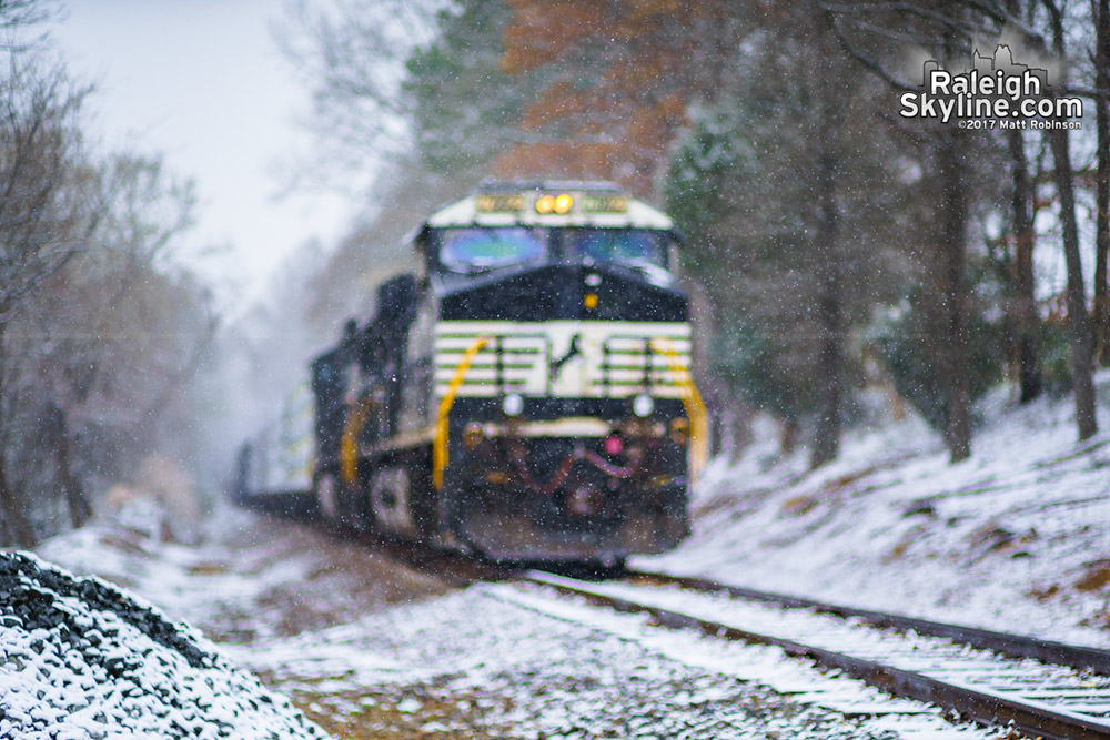Dorothea Dix Train in the Snow