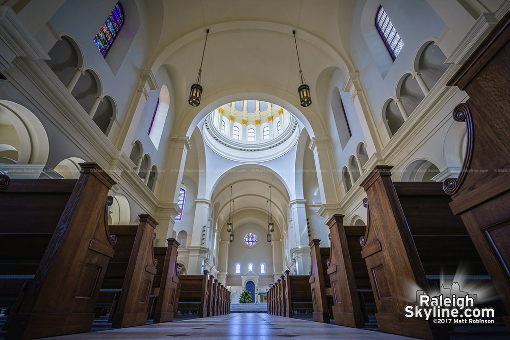 Interior of the new Holy Name of Jesus Cathedrals
