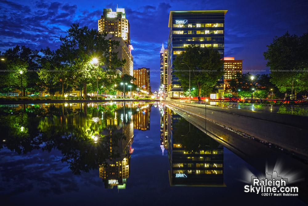 Litchin Plaza Reflections