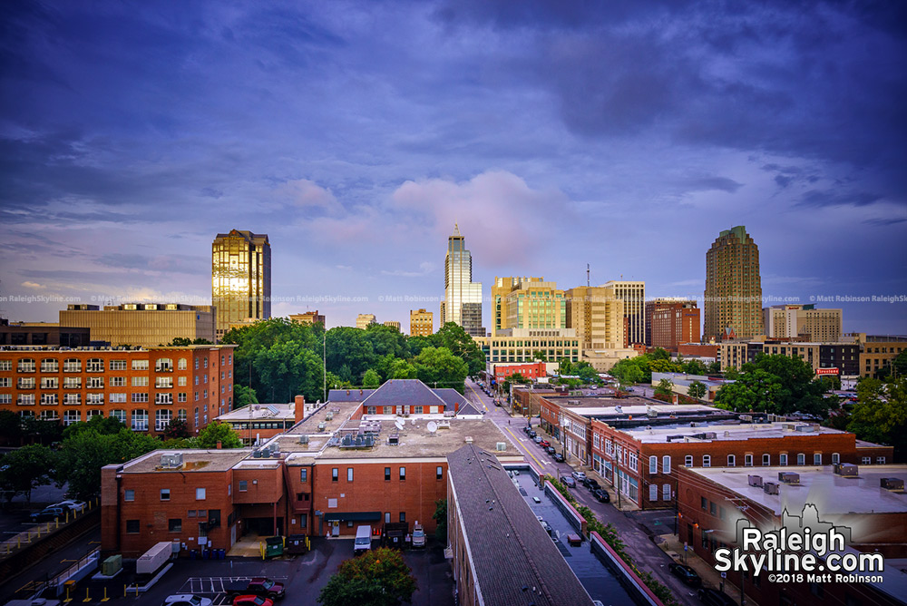 Downtown Raleigh from the Dillon