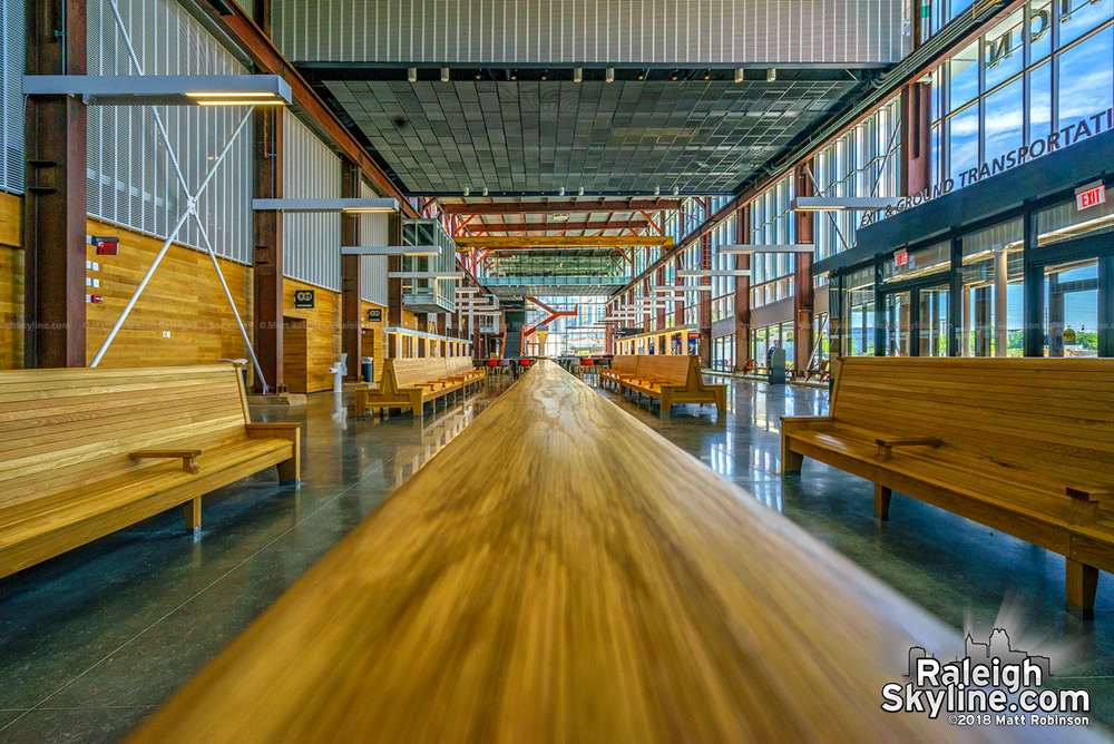Raleigh's new Union Station