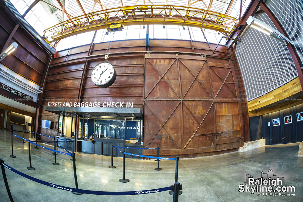 Fisheye of Raleigh Union Station