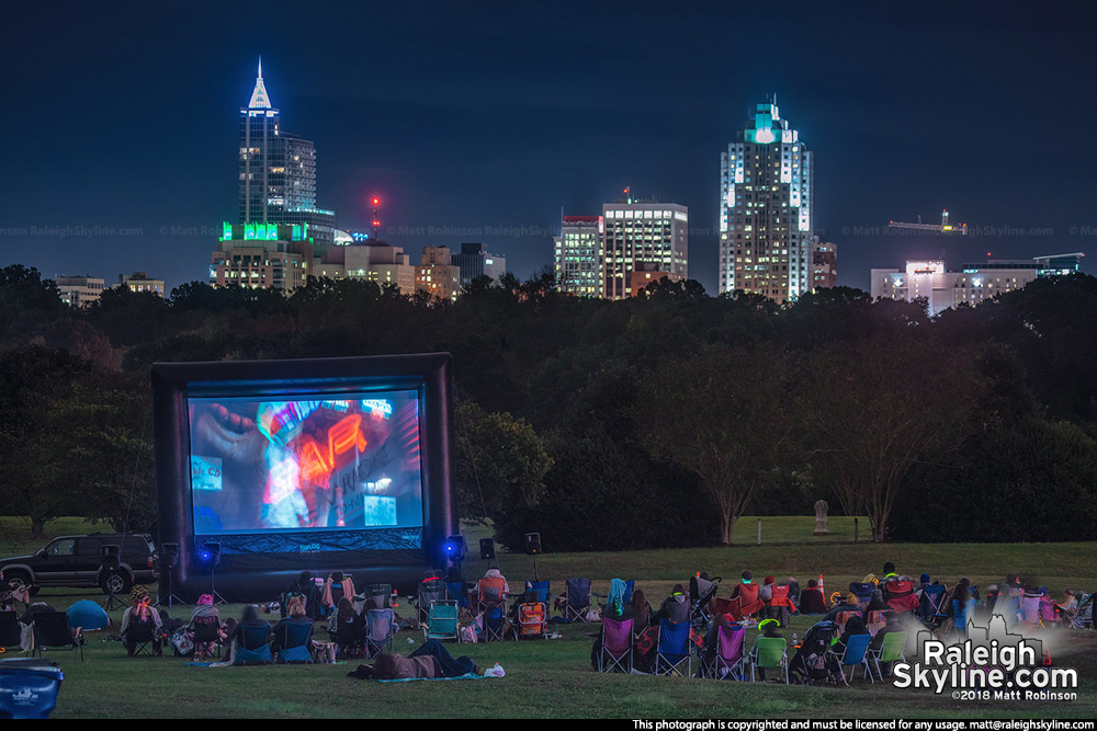 Dorothea Dix Park movie night