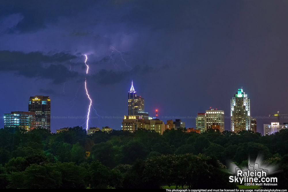 Lightning strikes with Raleigh