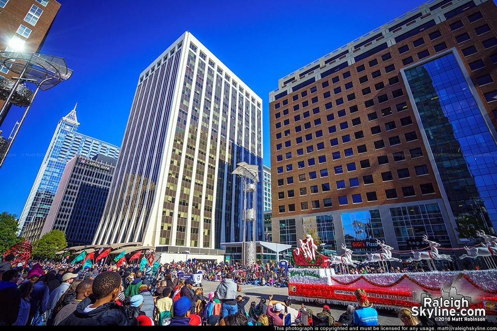 Raleigh Christmas Parade at City Plaza