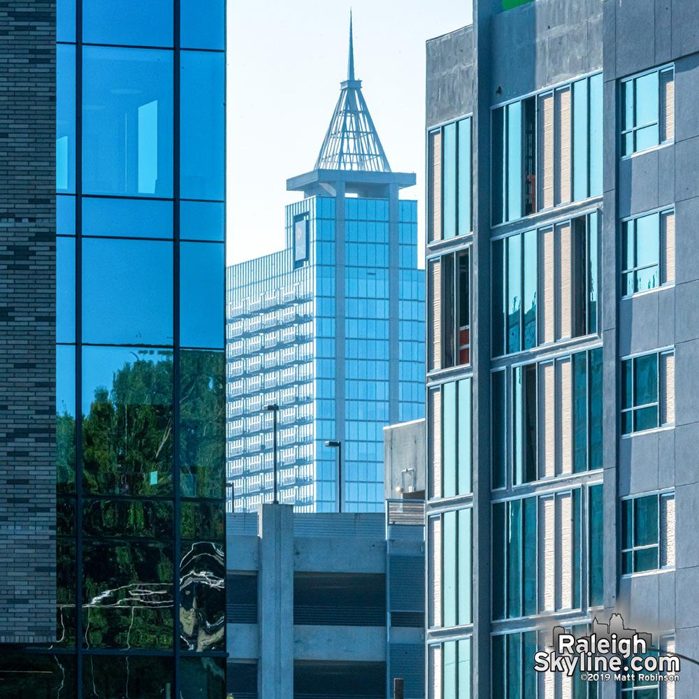 Fleeting look at new buildings