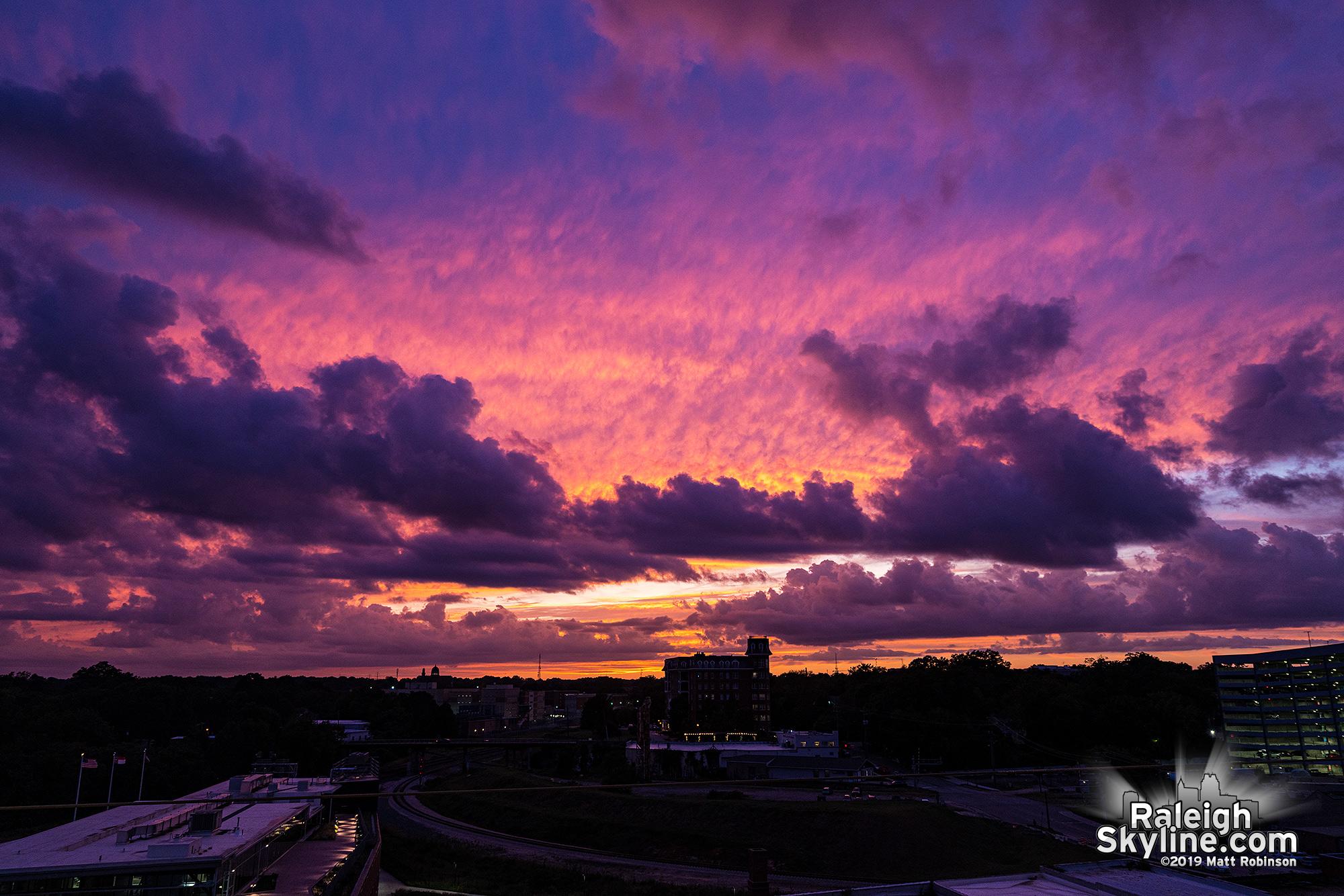 Hurricane Dorian Sunset