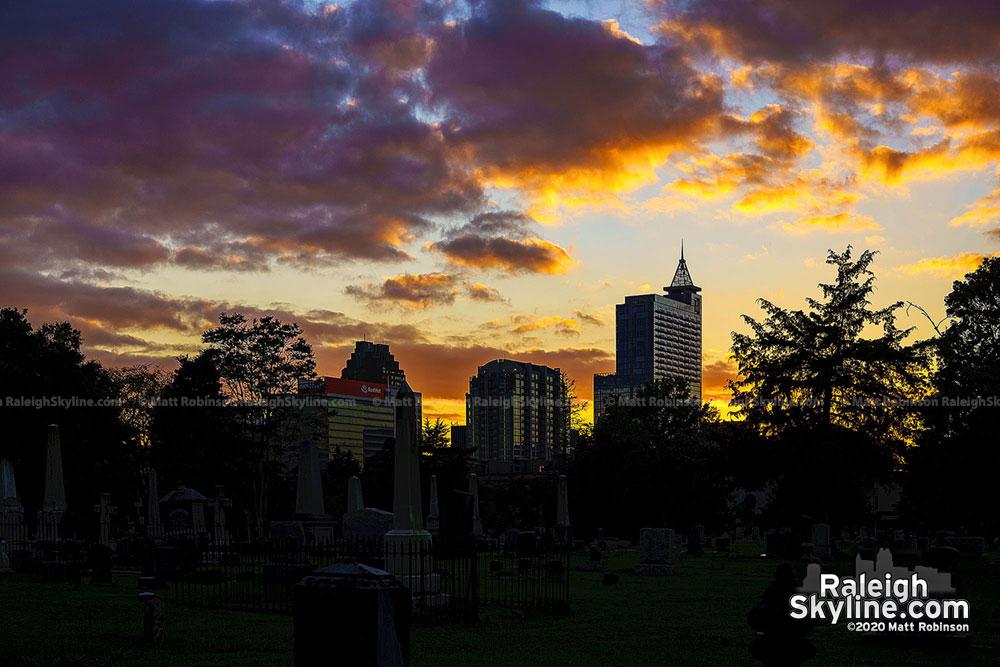 City Cemetery view