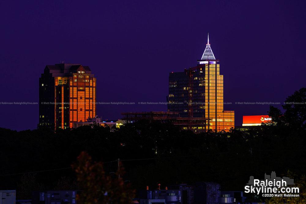 Harris Teeter view of Raleigh